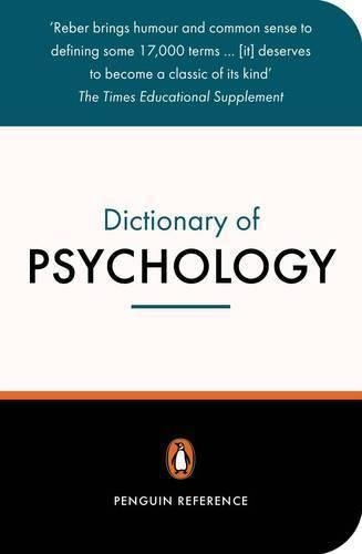 9780140514513: The Penguin Dictionary of Psychology (Penguin Dictionary)