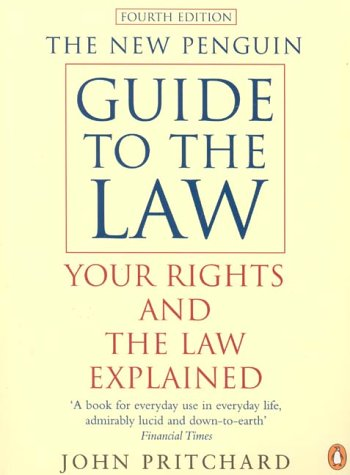 9780140514858: The New Penguin Guide to the Law: Your Rights and the Law Explained (Penguin Reference Books)