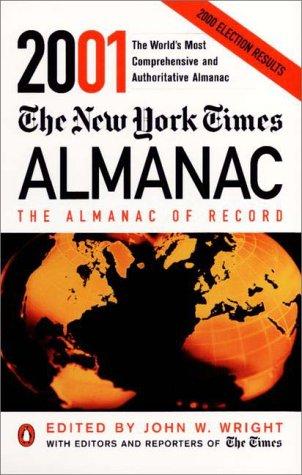 9780140514872: The New York Times Almanac 2001