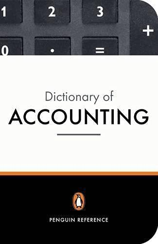 9780140514889: The Penguin Dictionary of Accounting (Penguin Reference Books)