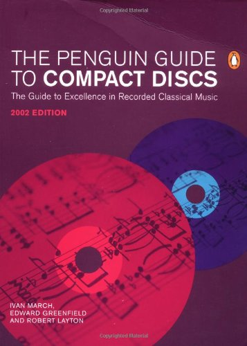 9780140514971: The Penguin Guide to Compact Discs 2001/2002 (Penguin Reference Books)
