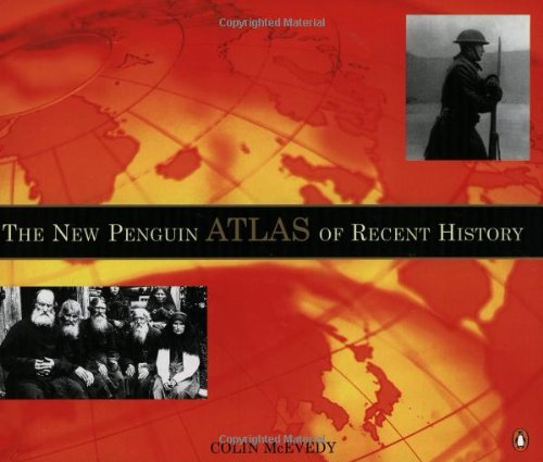 9780140515046: The New Penguin Atlas of Recent History: Europe Since 1815