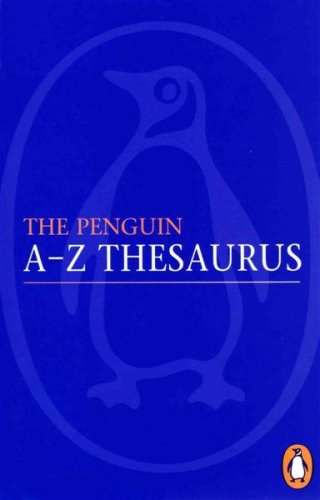 9780140515275: The Penguin a-Z Thesaurus