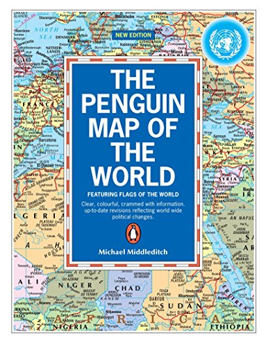 9780140515282: The Penguin Map of the World: Revised Edition