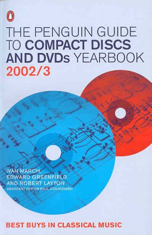 9780140515305: The Penguin Guide to Compact Discs and DVDs 2002/2003 (Penguin Reference Books)