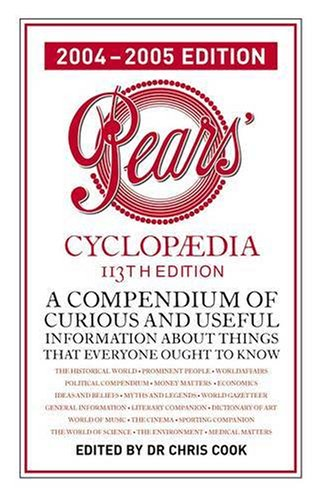 9780140515473: Pears Cyclopaedia 2004-2005 (113th edition) (A Compendium of curious and useful information about things that everyone ought to know)