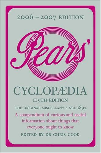 9780140515572: 2006 To 2007 Pears Cyclopaedia 115th Edition