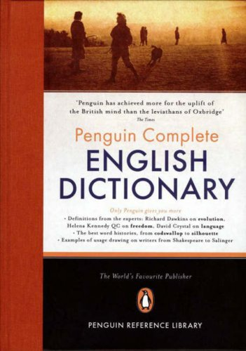 9780140515831: The Penguin Complete English Dictionary