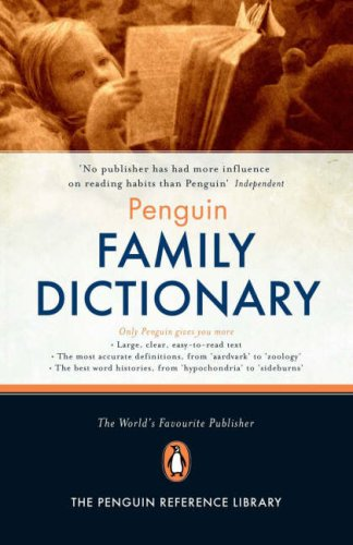 9780140515848: Penguin Family Dictionary