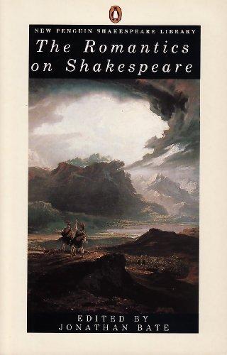 9780140530216: The Romantics on Shakespeare (Shakespeare Library, Penguin)