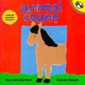 9780140541748: Animal Count: Sticker Book (Picture Puffin)