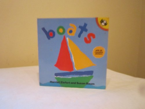 Boats Sticker Book (Picture Puffin): Baum, Susan, Ziefert,