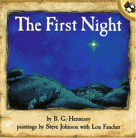 9780140541786: The First Night (Picture Puffins)