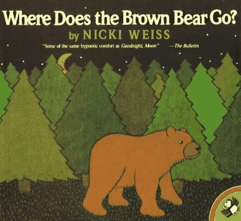 9780140541816: Where Does the Brown Bear Go? (Picture Puffins)