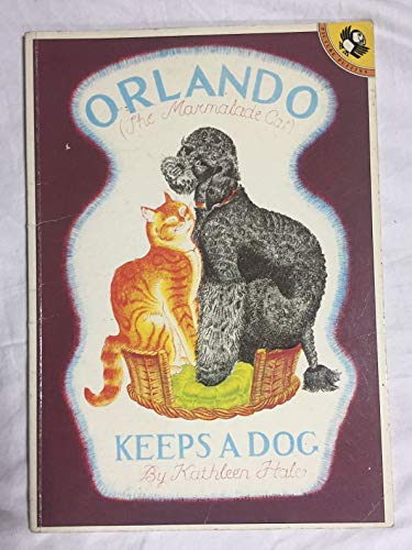 9780140543032: Orlando (the Marmalade Cat) Keeps a Dog (Picture Puffin S.)