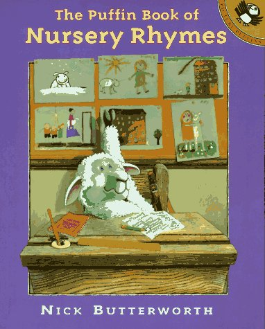 9780140543230: Butterworth Nick : Nick Butterworth'S Book of Nursery Rhym (Picture Puffin)