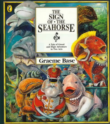 9780140544015: The Sign of the Seahorse: a Tale of Greed & High Adventure in Two Acts