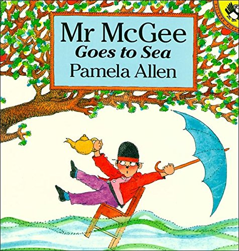 Mr Mcgee Goes To Sea (Picture Puffin): Allen, Pamela