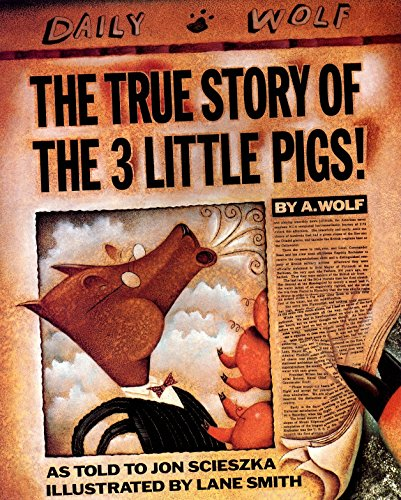 9780140544510: The True Story of the Three Little Pigs