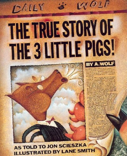 9780140544510: The True Story of the 3 Little Pigs