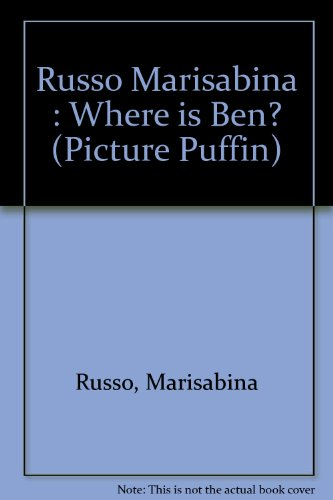 9780140544749: Where Is Ben? (Picture Puffins)