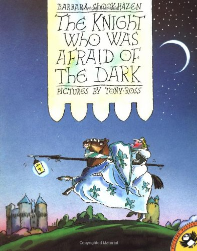 9780140545456: Harzen B. & Ross T. : Knight Who Was Afraid of the Dark (Picture Puffin)