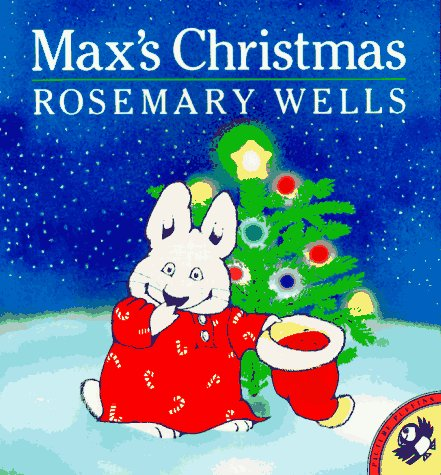 9780140545630: Wells Rosemary : Max'S Christmas (Picture Puffin)