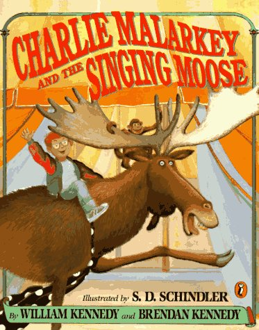 9780140545746: Charlie Malarkey and the Singing Moose (Picture Puffins)