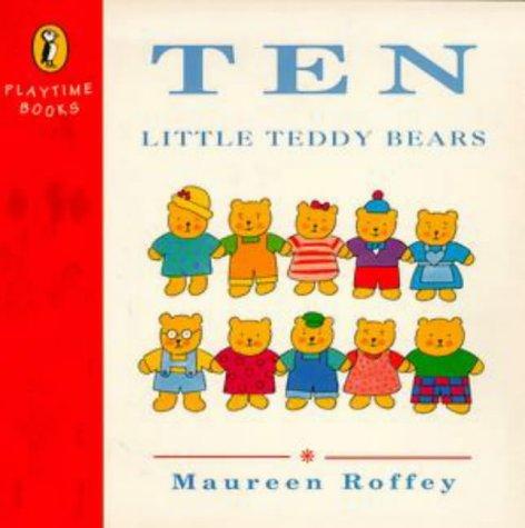 9780140545784: Ten Little Teddy Bears (Playtime Books)