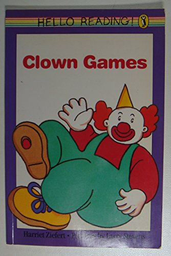 9780140545814: Clown Games (Hello reading!)