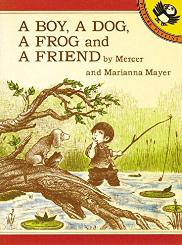9780140546101: A Boy, a Dog, a Frog, And a Friend (Picture Puffin)