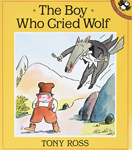 9780140546125: Ross Tony : Boy Who Cried Wolf (Picture Puffin)