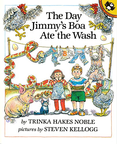 9780140546231: The Day Jimmy's Boa Ate the Wash