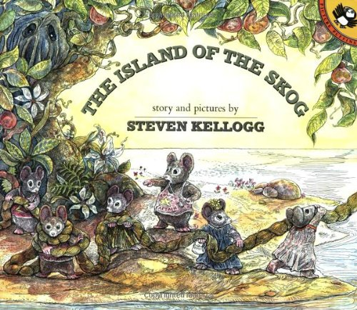The Island of the Skog (Picture Puffin): Kellogg, Steven