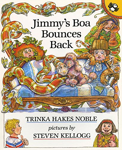 9780140546545: Jimmy's Boa Bounces Back