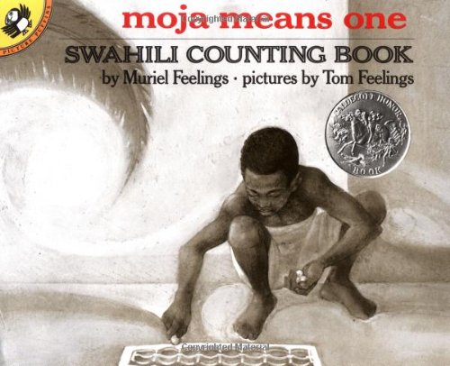 9780140546620: Moja Means One: Swahili Counting Book (Picture Puffin Books)