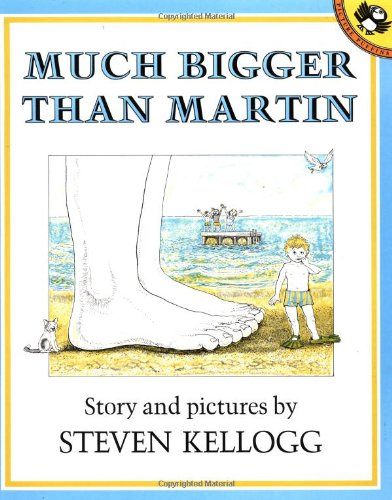 9780140546668: Much Bigger Than Martin (A Pied Piper Book)