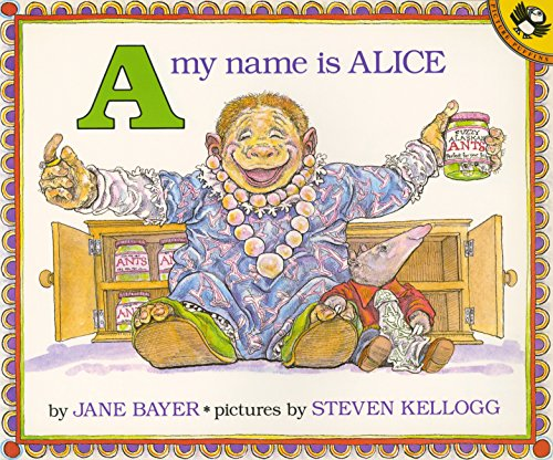 9780140546682: A, My Name Is Alice (Picture Puffin Books)
