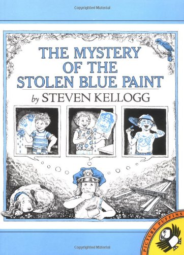 The Mystery of the Stolen Blue Paint (Puffin Pied Piper): Kellogg, Steven