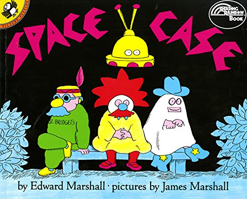 9780140547047: Space Case (Reading Rainbow Book)