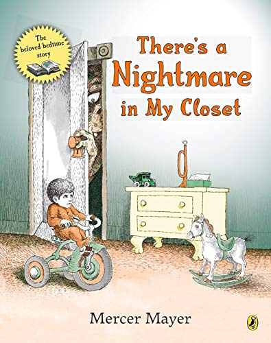 9780140547122: There's a Nightmare in My Closet (Pied Piper Book)