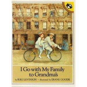 I Go with My Family to Grandma's (Unicorn) (0140547622) by Levinson, Riki
