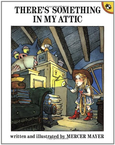 9780140548136: Mayer Mercer : There'S Something in My Attic (Picture Puffin)