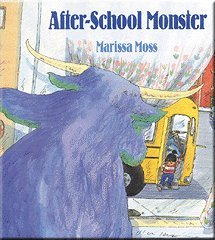 9780140548297: The After-School Monster (Picture Puffins)