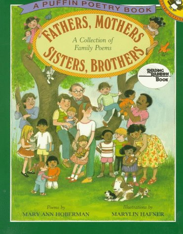 9780140548495: Fathers, Mothers, Sisters, Brothers: A Collection of Family Poems (Reading Rainbow)