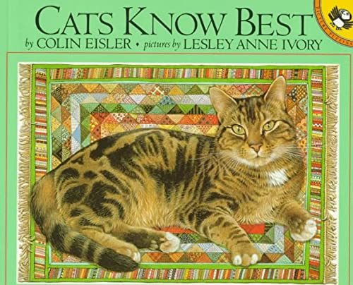 9780140548570: Cats Know Best (Pied Piper Paperbacks)