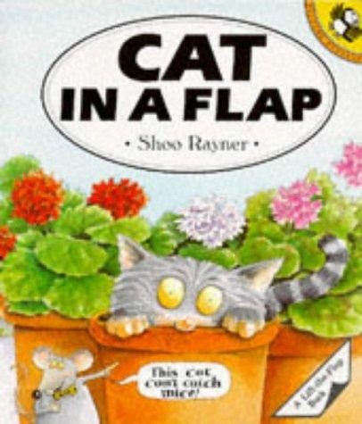 9780140548600: Cat in a Flap (A Puffin Lift-the-Flap Book)