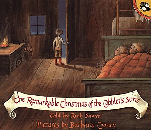 9780140549164: The Remarkable Christmas of the Cobbler's Sons (Picture Puffins)