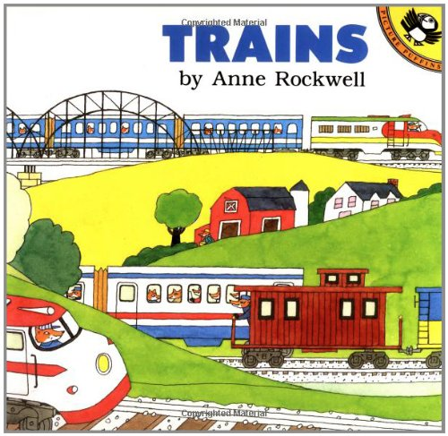 9780140549799: Trains (Anne Rockwell's Transportation Series)