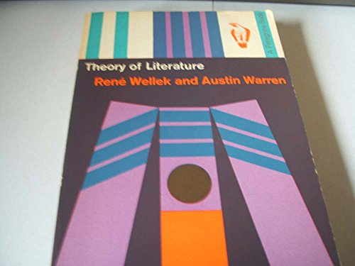 9780140550283: Theory of Literature (Peregrine Books)